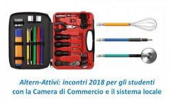 Altern-Attivi: incontri 2018 per gli studenti con la Camera di Commercio