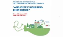 Primo Open Day regionale della responsabilità sociale d'impresa