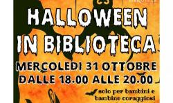 Halloween in biblioteca a Martellago