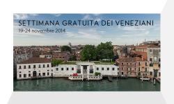 Settimana dei veneziani alla Collezione Guggenheim