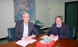 firmatari: il sindaco di Concordia Sagittaria, Claudio Odorico e l'assessore provinciale all'ambiente Paolo Dalla Vecchia