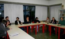 Portogruaro, un momento dell'incontro tra l'assessore Gasparotto e i dirigenti scolastici