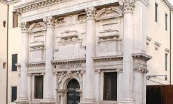 Venezia, il liceo Benedetti nell'ex chiesa di S. Giustina (foto: M. Fletzer)