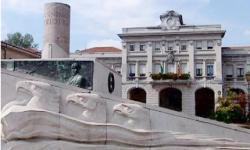 San Donà di Piave, piazza centrale e Municipio (foto: M. Fletzer)