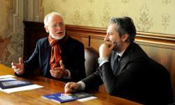 l'assessore Speranzon con il maestro Leuthenmayr