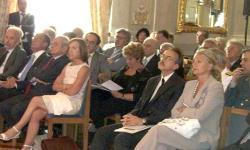rappresentanti delle istituzioni al convegno con il ministro Fornero (al centro)