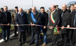 Marcon, il commissario Cesare Castelli inaugura i nuovi svincoli per la tangenziale di Mestre