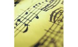 spartito con violino