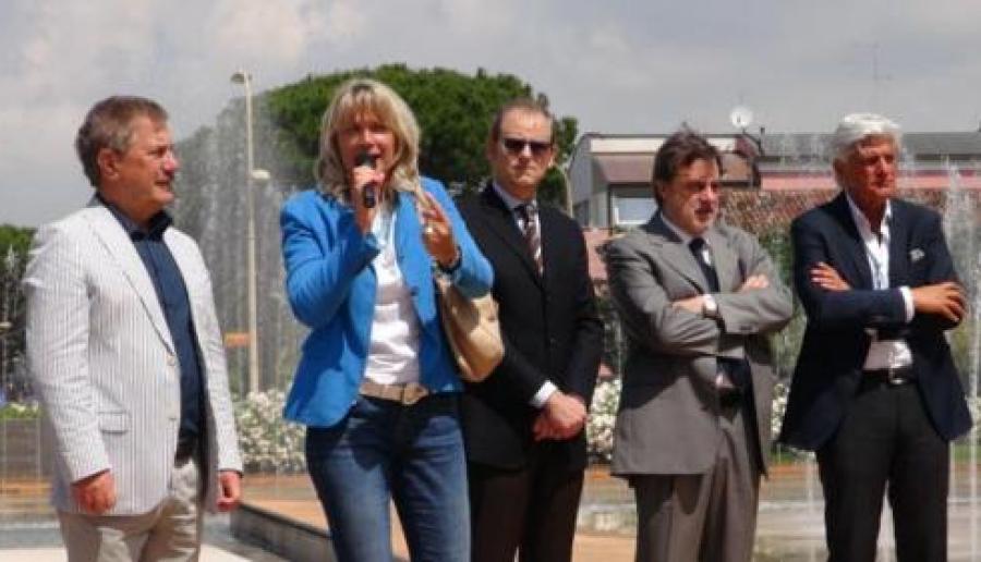 Zoggia, Zaccariotto, Grandolfo, Chisso, Turchetto - nuovi autobus ATVO a Jesolo