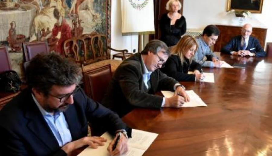 Firmata la convenzione per la sicurezza urbana (foto: Comune di Venezia)