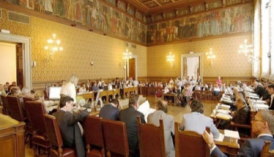 seduta di Consiglio a Venezia Ca' Corner (foto: Mario Fletzer)