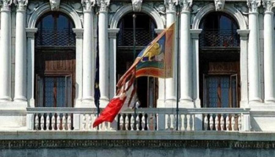 Ca' Corner, piano della presidenza e della sala giunta (foto: Mario Fletzer)