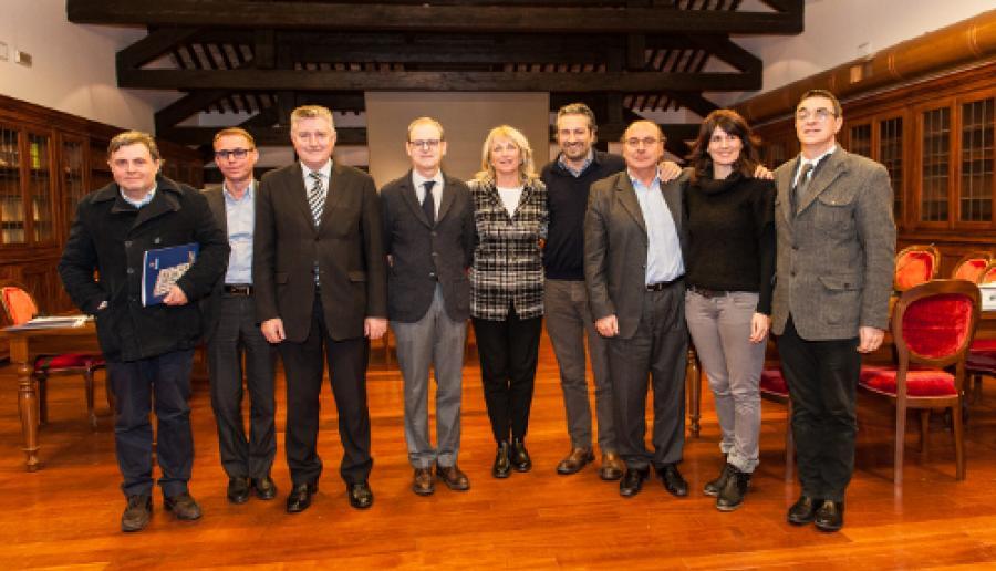 Fine mandato: la Giunta Zaccariotto (assenti Dalla Tor e Vigolo)