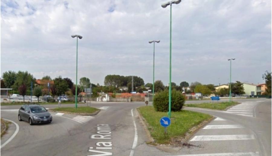 Salzano, tratto di via Roma (fonte: Google Street View)