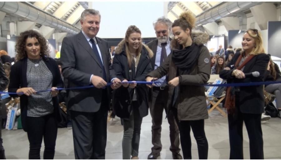 Mestre, inaugurazione del salone per l'offerta formativa Fuori di Banco 2014
