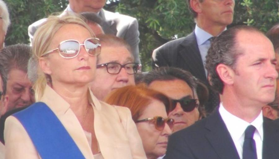Francesca Zaccariotto e Luca Zaia (foto: M. Fletzer)