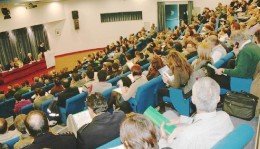 incontro in auditorium della Provincia a Mestre