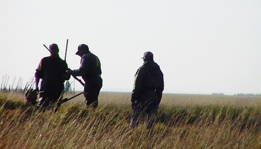 cacciatori nel territorio provinciale (foto: archivio polizia provinciale)