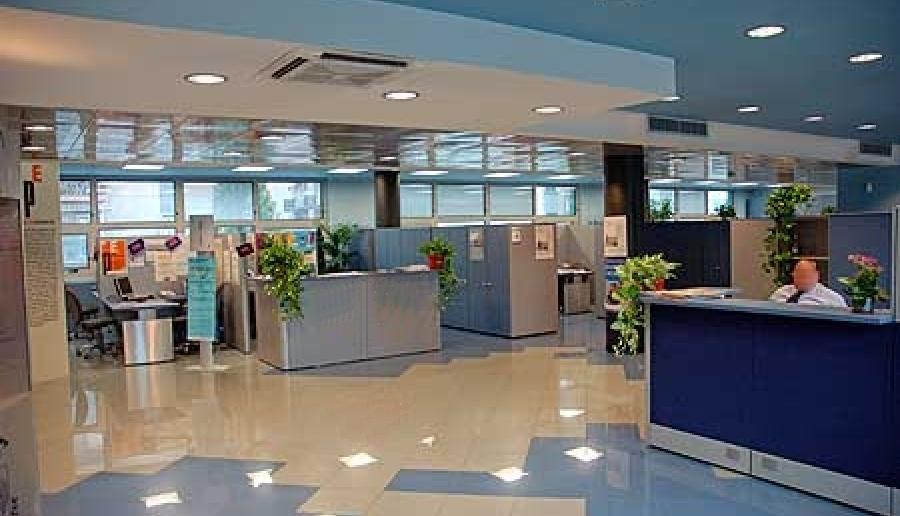 accesso agli uffici del Centro Servizi di Mestre in via Forte Marghera