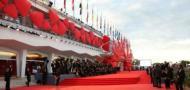 Zaccariotto all'inaugurazione della Mostra del Cinema di Venezia